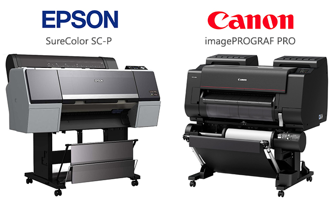 Epson SureColor SC-P / Canon imagePROGRAF PRO
