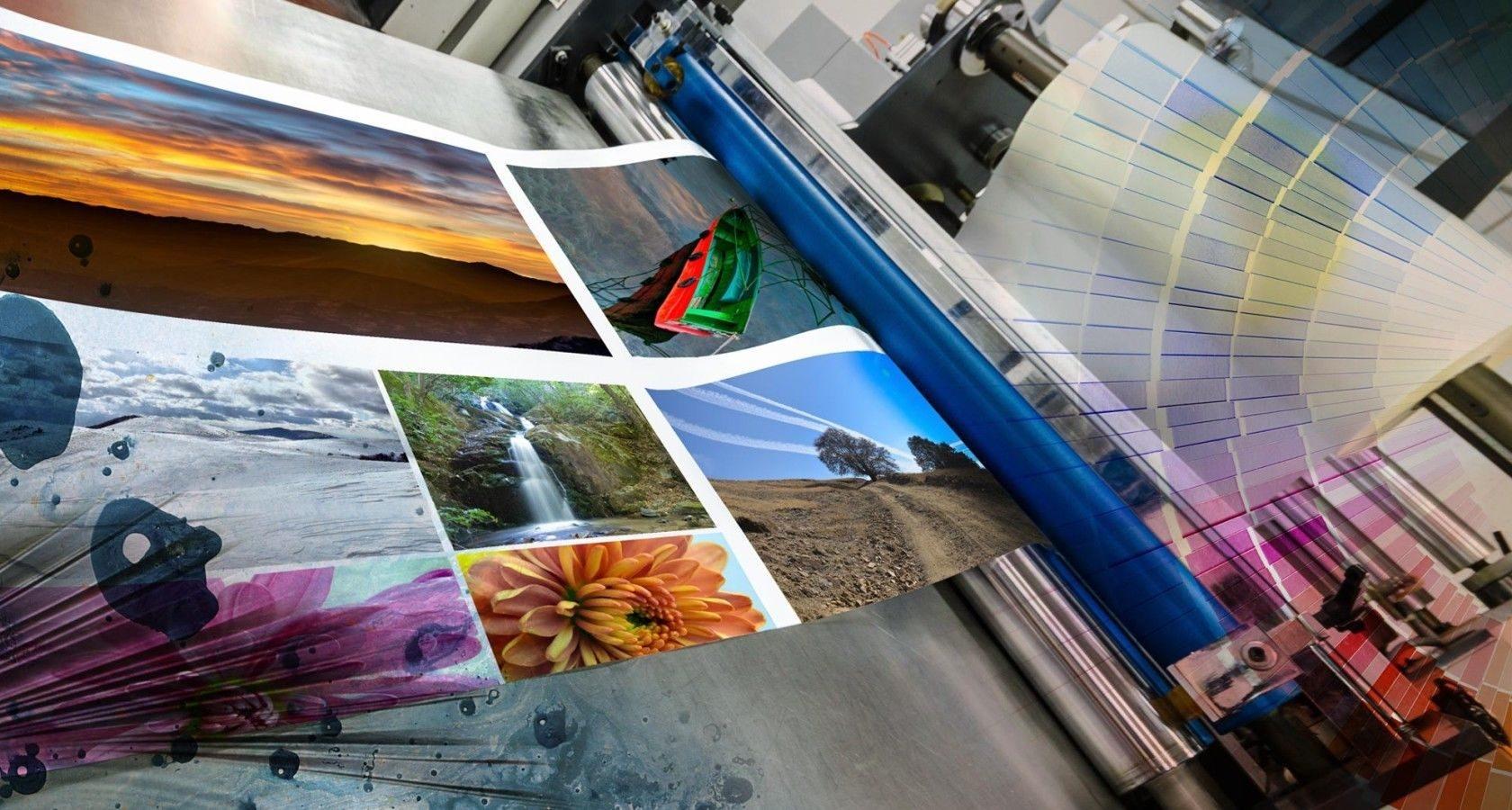 Печать картинки на фотобумаге