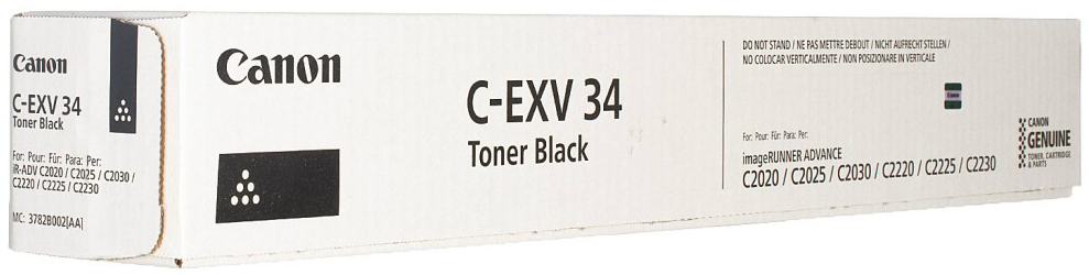 Canon C-EXV34 (black). На выгодных условиях