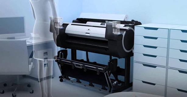 Canon imagePROGRAF iPF785. Компактный дизайн