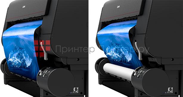 Canon imagePROGRAF PRO-6000S. Двойной рулонный блок