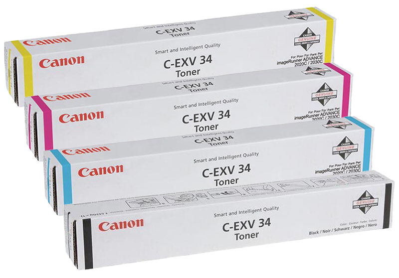 Canon imageRUNNER ADVANCE C2020i. Тонер C-EXV34