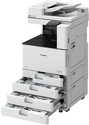 Canon imageRUNNER C3025i. Контроль общей стоимости печати