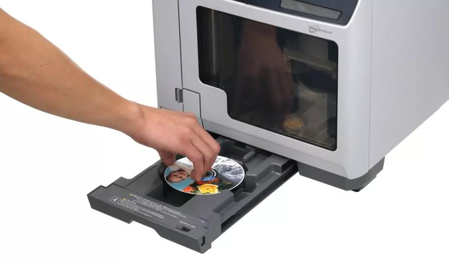 Epson PP-100AP. Готовые диски