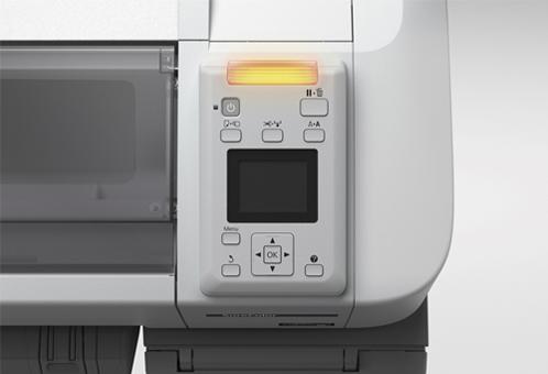 Epson SureColor  SC-B6000. Панель управления
