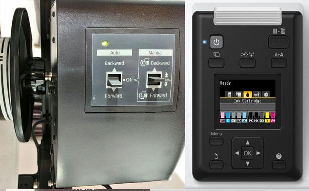 Epson SureColor SC-P10000. Управление