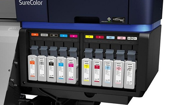 Epson SureColor SC-S80610. Чернила Epson UltraChrome GS3 Red