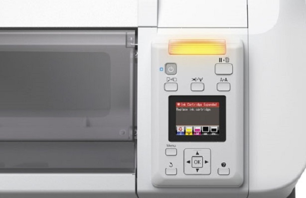Epson SureColor SC-T3200 PS. Панель управления