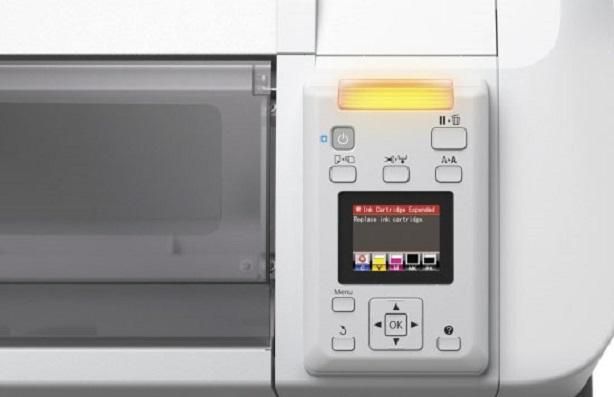 Epson SureColor SC-T5200. Панель управления