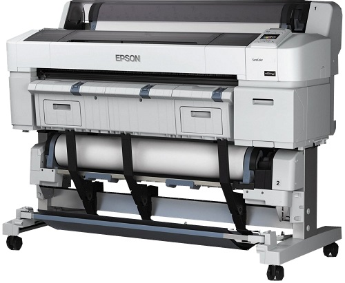 Epson SureColor SC-T5200D. Два рулона