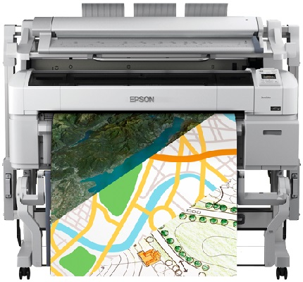 Epson SureColor SC-T5200D. Решение для графики, САПР и ГИС