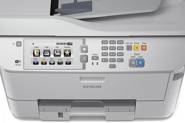Epson WorkForce Pro WF-M5690DWF. Панель управления