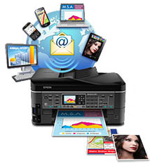 Epson WorkForce Pro WF-R5190DTW RIPS. Email Print