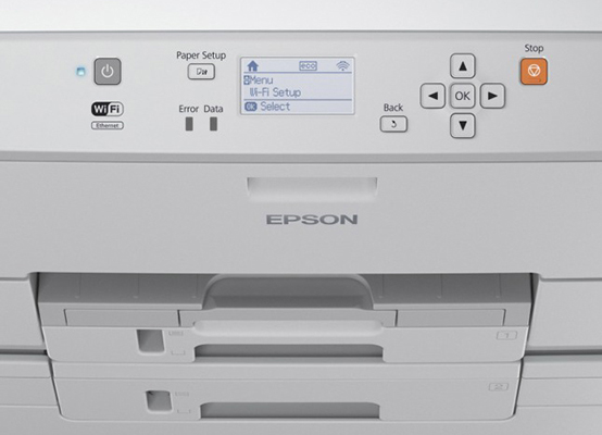 Epson WorkForce Pro WF-R5190DTW RIPS. Удобство работы и обслуживания