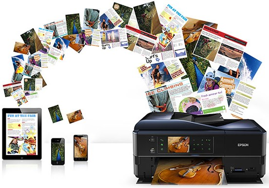 Epson WorkForce Pro WF-R5690DTWF RIPS. Беспроводная печать с сервисом Epson Connect