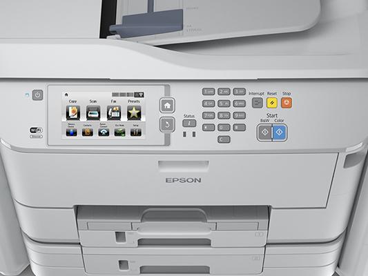 Epson WorkForce Pro WF-R5690DTWF RIPS. Удобство работы и обслуживания