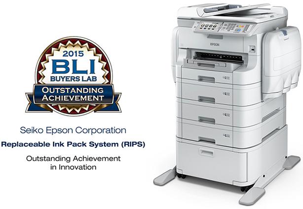 Epson WorkForce Pro WF-R8590DTWF RIPS. Премия BLI Выдающееся достижение