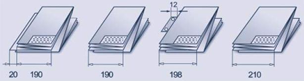 Фальцовщик Es-Te 2300. Программы фальцовки