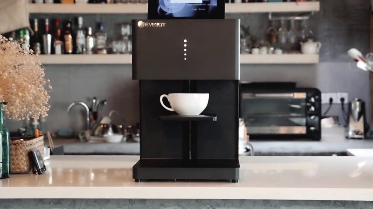 Evebot Fantasia Black. Компактный дизайн