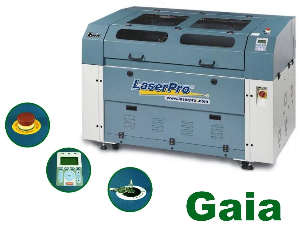 GCC LaserPro Gaia 100. Функциональные возможности