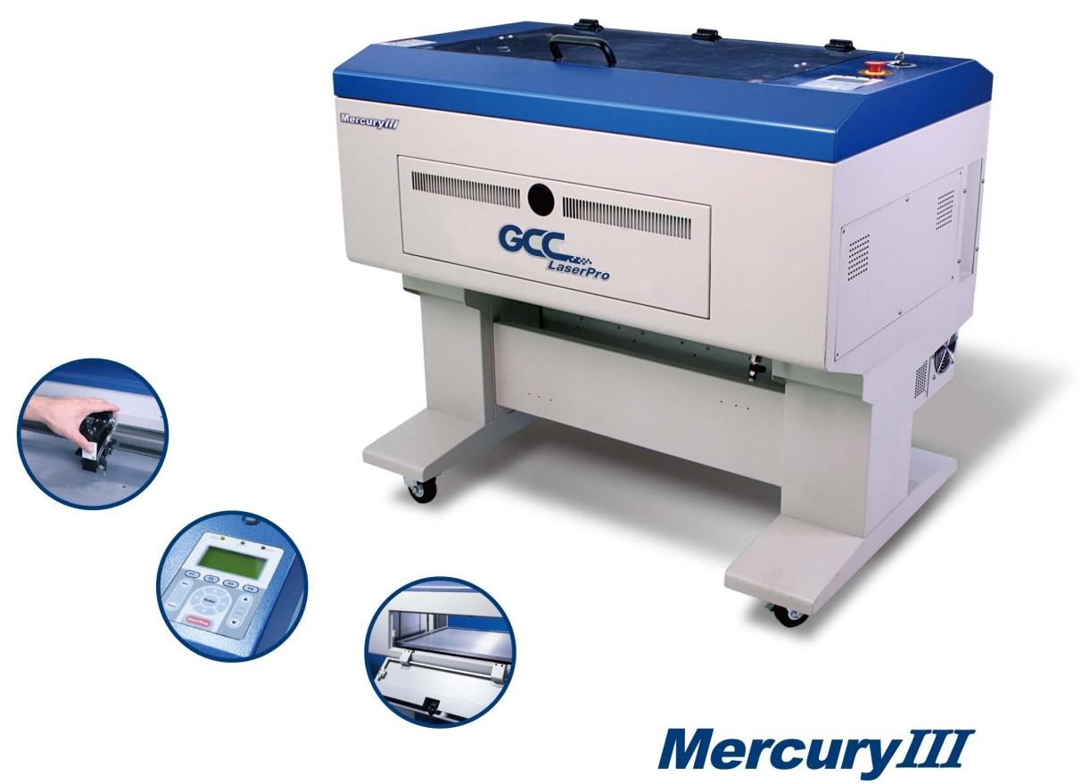 GCC LaserPro Mercury III 40. Функциональные возможности