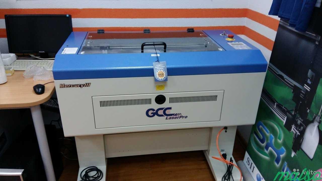 GCC LaserPro Mercury III 40. Преимущества