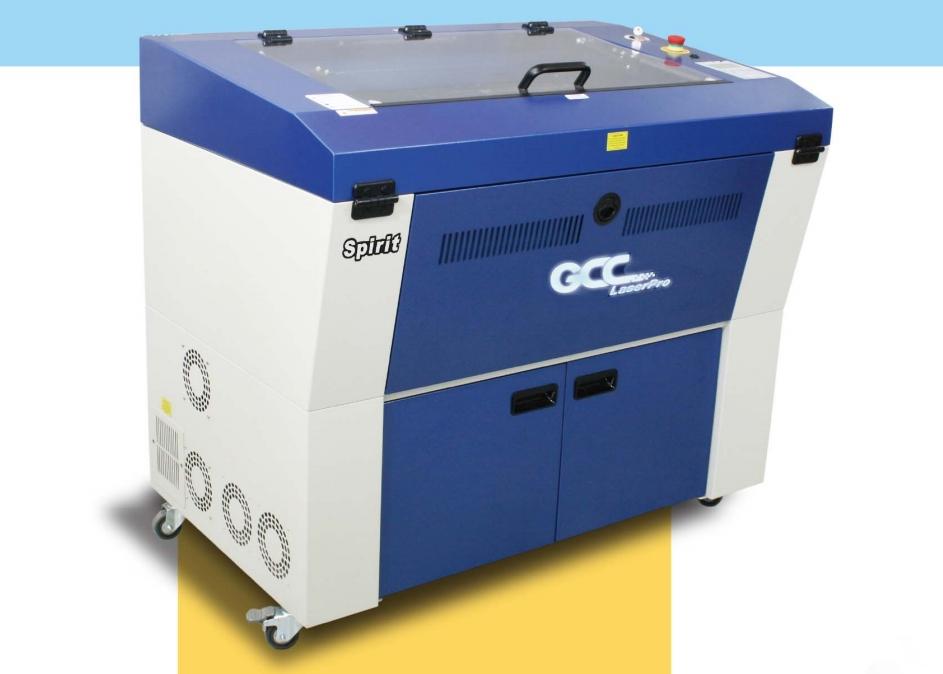 GCC LaserPro Spirit GX 30. Преимущества