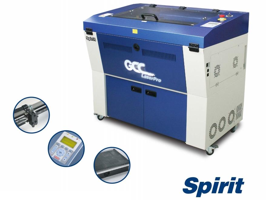 GCC LaserPro Spirit GX 40. Функциональные возможности