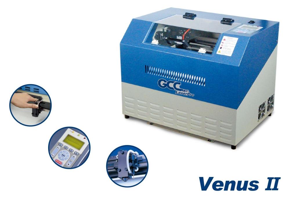GCC LaserPro Venus II 12. Функциональные возможности