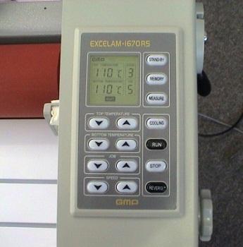 GMP Excelam Q1670RS. Пульт управления
