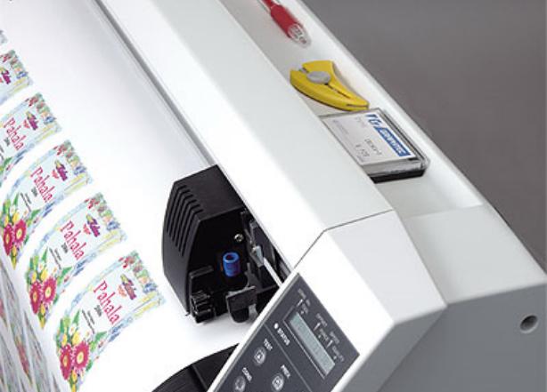 Graphtec CE5000-120. Тангенциальный режим