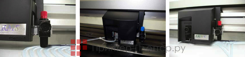Graphtec FC7000-75. Алгоритм тангенциального контроля