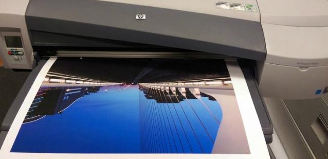 HP DesignJet 110r Plus. Качество печати