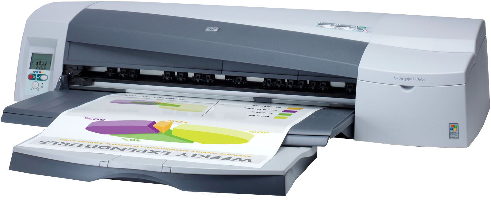HP DesignJet 110r Plus