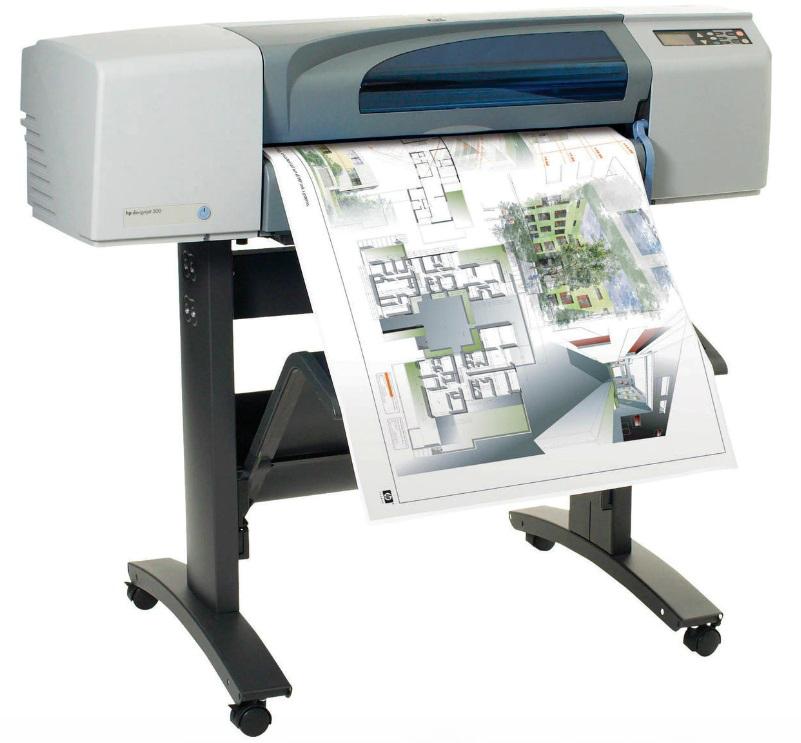 HP DesignJet 500 Plus 24 дюйма на выгодных условиях