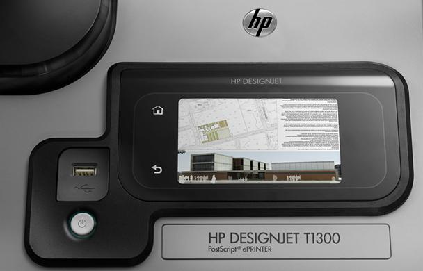 HP Designjet T1300 PostScript 1118 мм. Функции