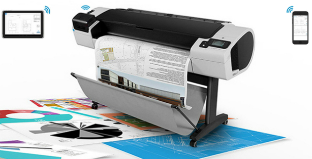 HP Designjet T1300 PostScript 1118 мм. Удаленная печать