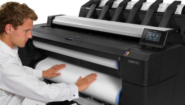HP Designjet T1530. Производительность