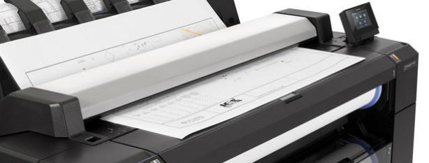 HP DesignJet T2530 PostScript. Профессиональное МФУ