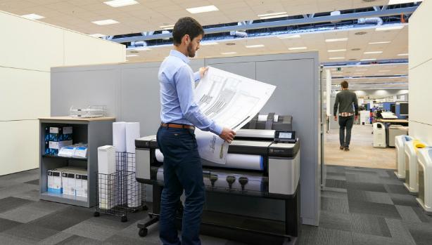HP Designjet T3500 eMFP. Максимальная безопасность