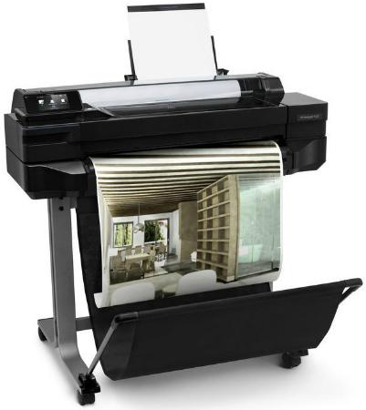 HP Designjet T120 ePrinter 610 мм. Профессиональная печать