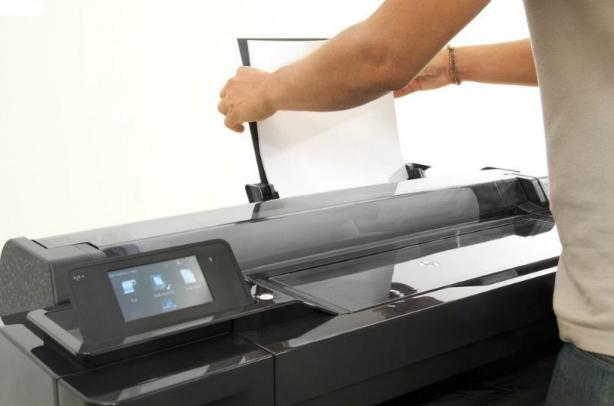 HP Designjet T120 ePrinter 610 мм. Простая широкоформатная печать