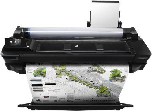HP Designjet T120 ePrinter 914 мм. Профессиональная печать
