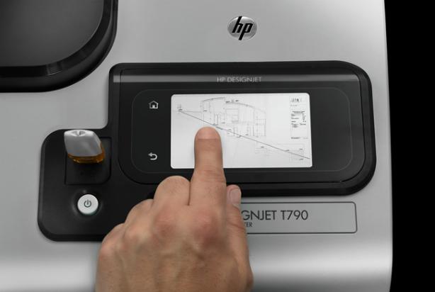 HP DesignJet T790 24 дюйма. Функции