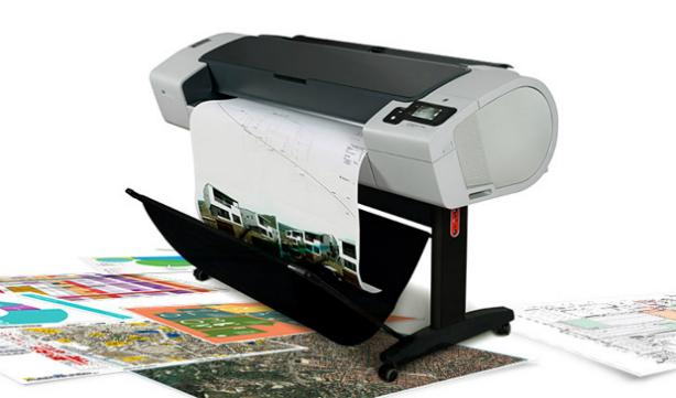 HP DesignJet T790ps ePrinter PostScript 610 мм. Надежность и скорость