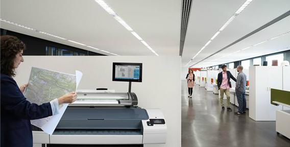 HP Designjet T795 ePrinter. Высокое качество