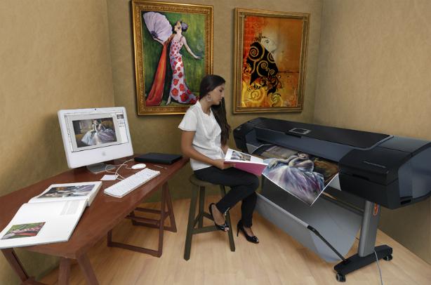 HP DesignJet Z3200ps 118 мм. Печать выставочного качества