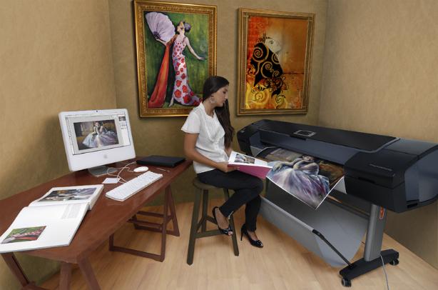 HP DesignJet Z3200ps 610 мм. Печать выставочного качества