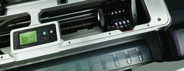 HP DesignJet Z5200ps PhotoPrinter PostScript 1118 мм. Встроенный спектрофотометр
