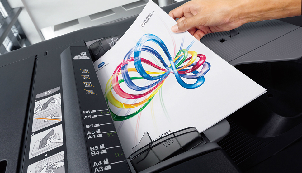 Konica Minolta AccurioPress 6136. Высокоскоростной сканер